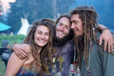 Happy-Hippies-Embracing-Rainbow-Gathering-Washington-2011